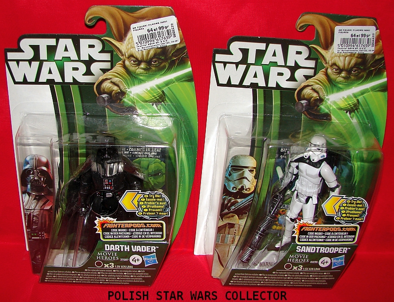 Star Wars Toys 2013 : Star wars movie heroes polish collector site