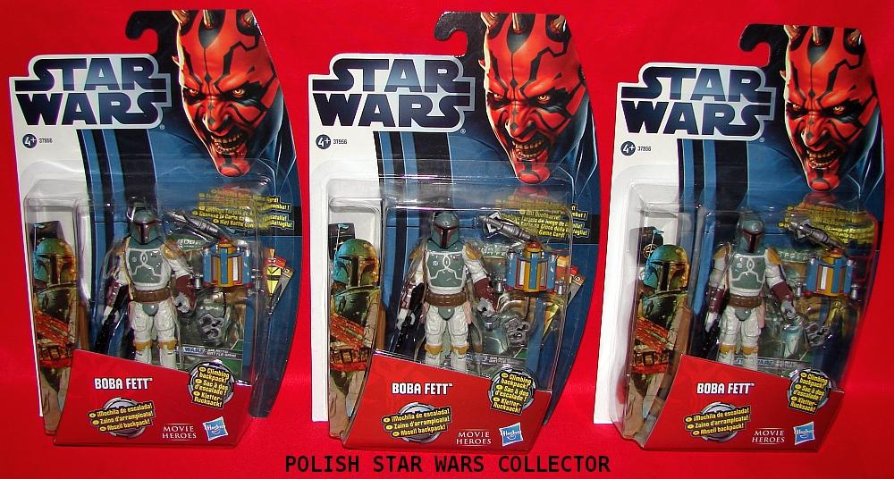 Star Wars Movie Heroeas Boba Fett European Action Figures